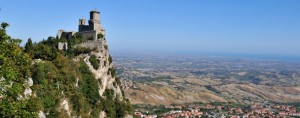 Castle della Guaita in the old town of San Marino