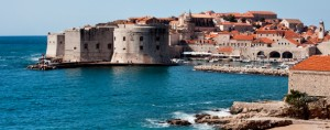Dubrovnik Old City on the Adriatic Sea in Croatia, South Dalmatia region